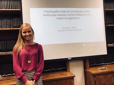 Savannah Merold's thesis proposal